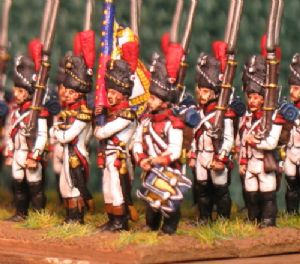 15mm, Napoleonic Dutch Grenadiers a Pied AB 24 figures